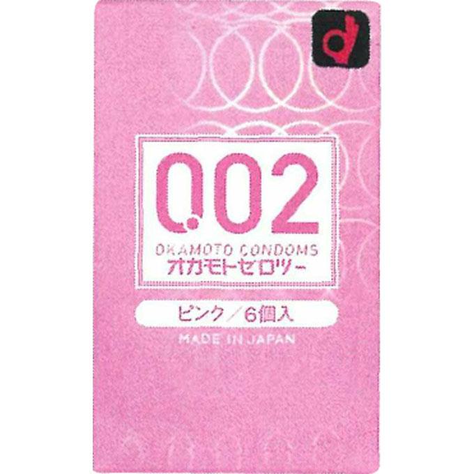 オカモト ゼロツー ピンク 6個