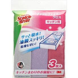 スリーエム ジャパン スコッチ・ブライト マイクロファイバークロス キッチン用 KPF−11