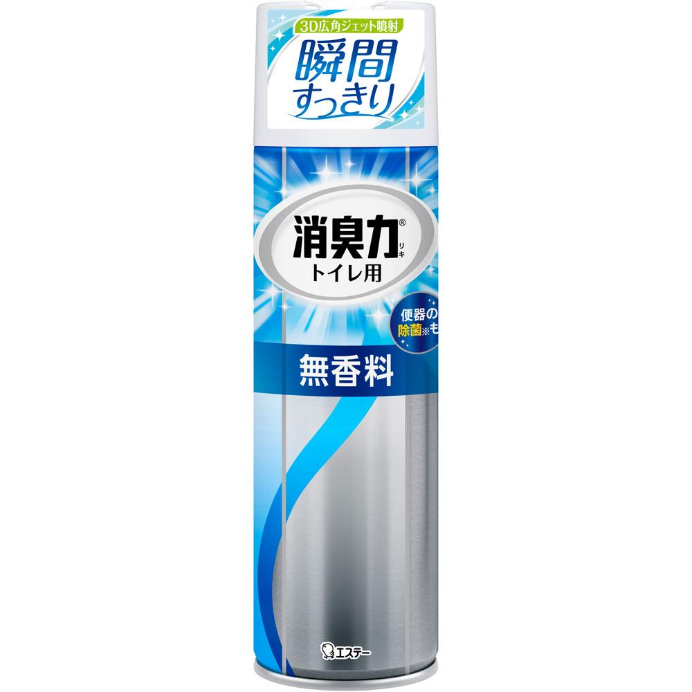 エステー フレッシュパワー消臭力トイレ用スプレー無香料 330ML