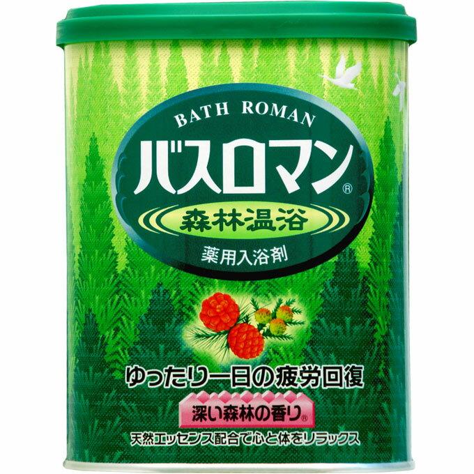 バスロマン 森林温浴 680g (医薬部外品)