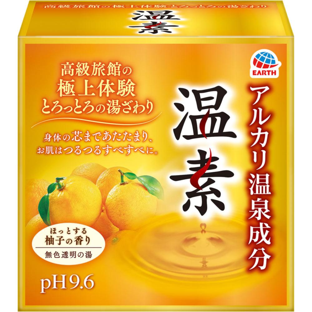 アース製薬 温素 柚子の香り 15包 (医薬部外品)