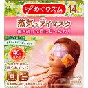 花王 めぐりズム 蒸気でホットアイマスク カモミールジンジャーの香り 14マイ【kao6me1pc4】
