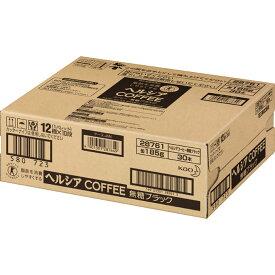 花王 ヘルシアコーヒー 無糖ブラック 185G×30