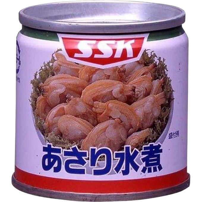 SSKセールス 豆缶シリーズ あさり水煮 85g