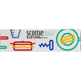 日本製紙クレシア スコッティ キッチンタオル ボックス 75組
