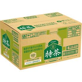 サントリーフーズ サントリー緑茶 伊右衛門 特茶 500ml×24