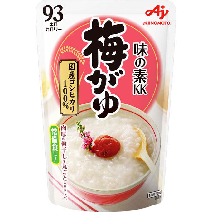 味の素 おかゆ 梅がゆ 250g