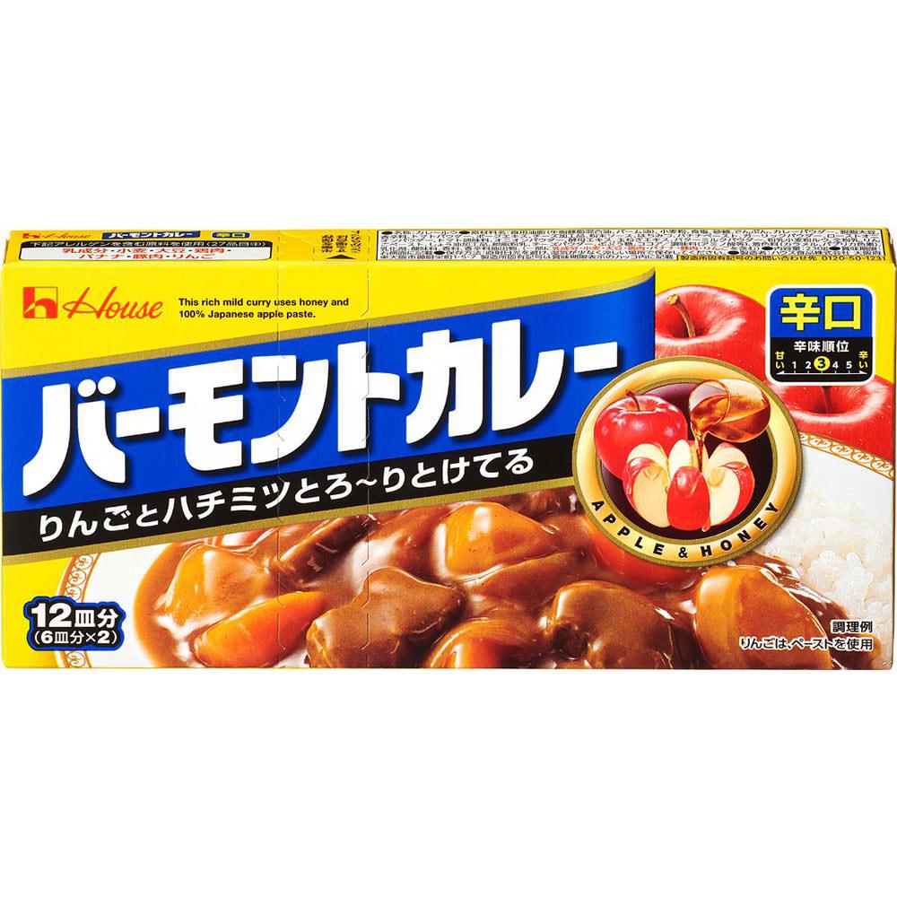 ハウス食品 バーモントカレー <辛口> 230g