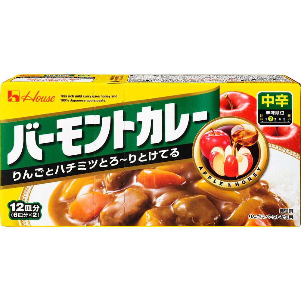 ハウス食品 バーモントカレー <中辛> 230g