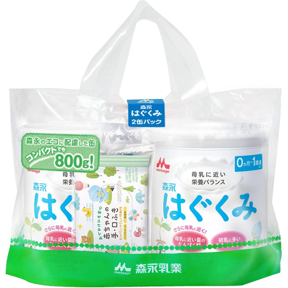 森永乳業 はぐくみ 大缶2缶パック 810G×2缶