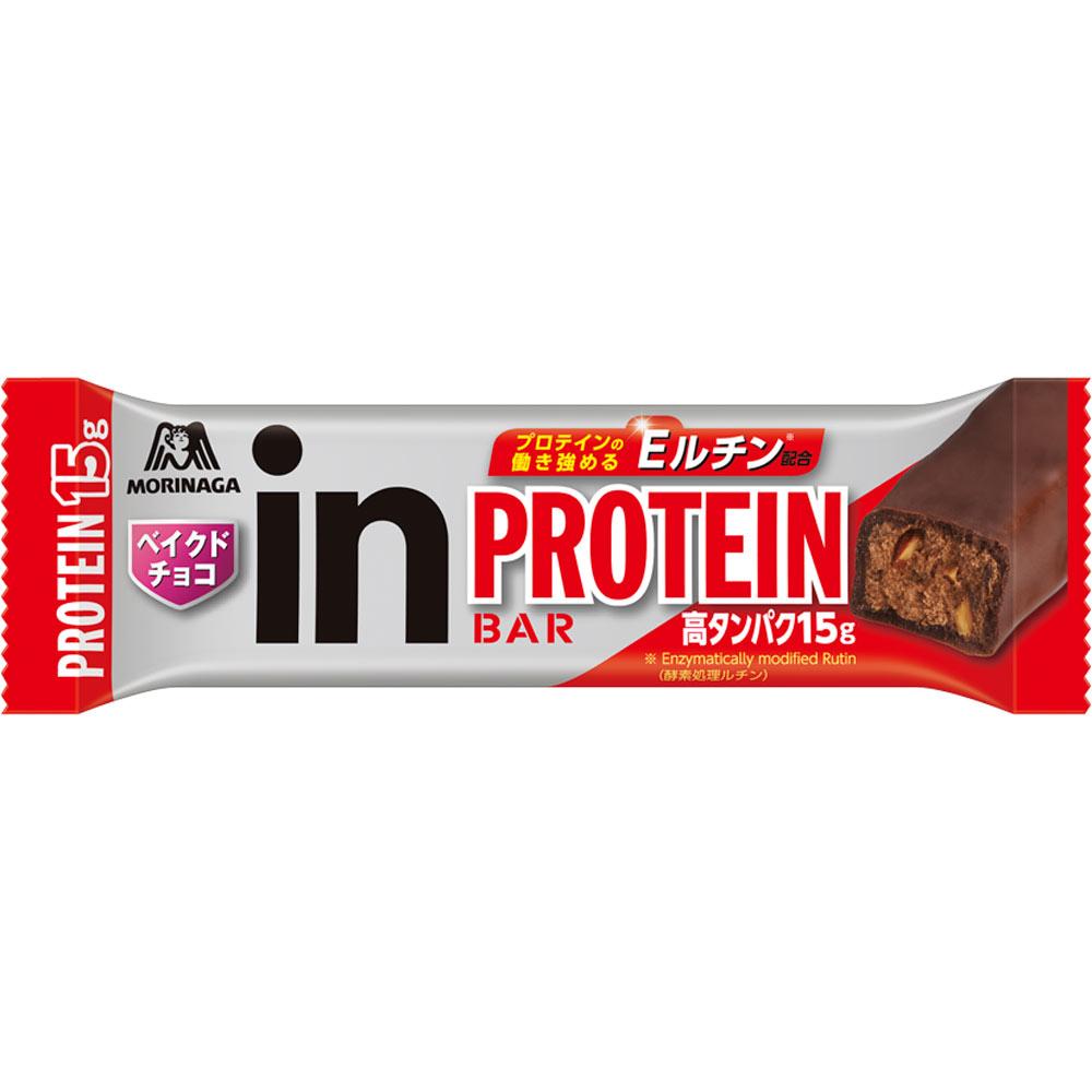 森永製菓 ウイダーinバー プロテイン ベイクドチョコ 34g