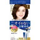 ダリヤ サロン ド プロ 無香料ヘアカラー 早染めクリーム(白髪用) 4 ライトブラウン 40g+40g