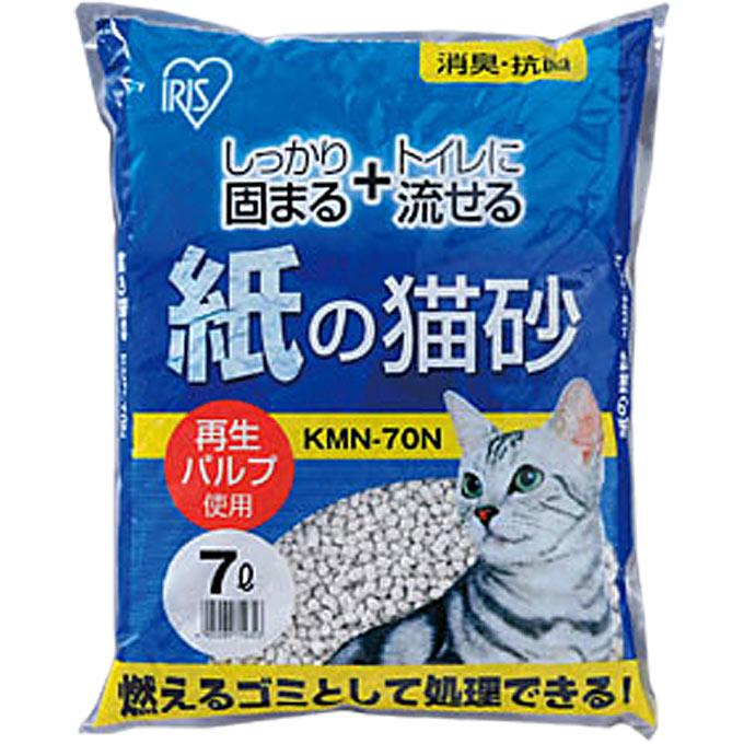 アイリスオーヤマ 紙の猫砂 KMN−70N 7L