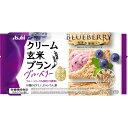 アサヒグループ食品株式会社 バランスアップ クリーム玄米ブラン ブルーベリー 2枚X2袋