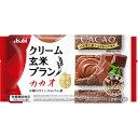 アサヒグループ食品株式会社 バランスアップ クリーム玄米ブラン カカオ 2枚×2袋