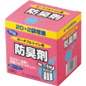 アロン化成 安寿 ポータブルトイレ用防臭剤 22包