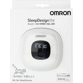 オムロンヘルスケア オムロン ねむり時間計 Sleep Design lite ホワイト HSL-001-W HSL−001−W