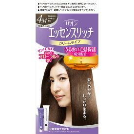 ヘンケルライオンコスメティックス パオン エッセンスリッチ クリームタイプ 4M 赤味を抑えたやや明るい栗色 40g+40g (医薬部外品)