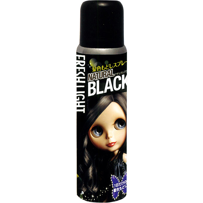 ヘンケルライオンコスメティックスフレッシュライト 髪色もどしスプレー ナチュラルブラックB
