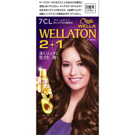 Wella AG ウエラトーン ツープラスワン クリーム 7CL明るいキャメルブラウン 60g+60ml (医薬部外品)【point】