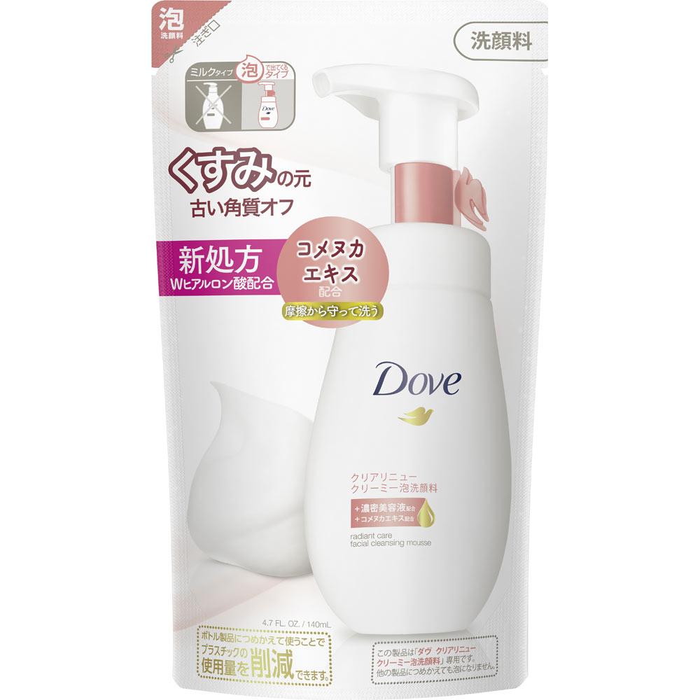 ユニリーバ・ジャパン ダヴ クリアリニュー クリーミー泡洗顔料 つめかえ用 140ml