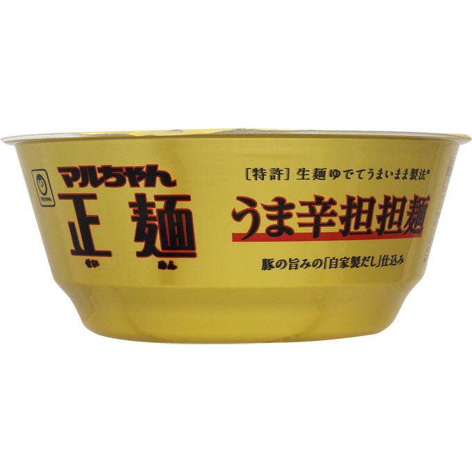 東洋水産 マルちゃん正麺 カップ うま辛担担麺 120g【賞味期限 2018年02月28日のため在庫限り特価】
