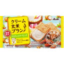 アサヒグループ食品株式会社 クリーム玄米ブランココナッツ&アーモンド 2枚X2袋