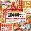 和光堂 BIGサイズの栄養マルシェ 五目中華丼セット 110g、80g