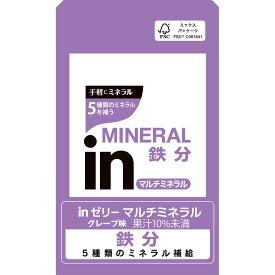 森永製菓 inゼリー マルチミネラル 6P 180g×6
