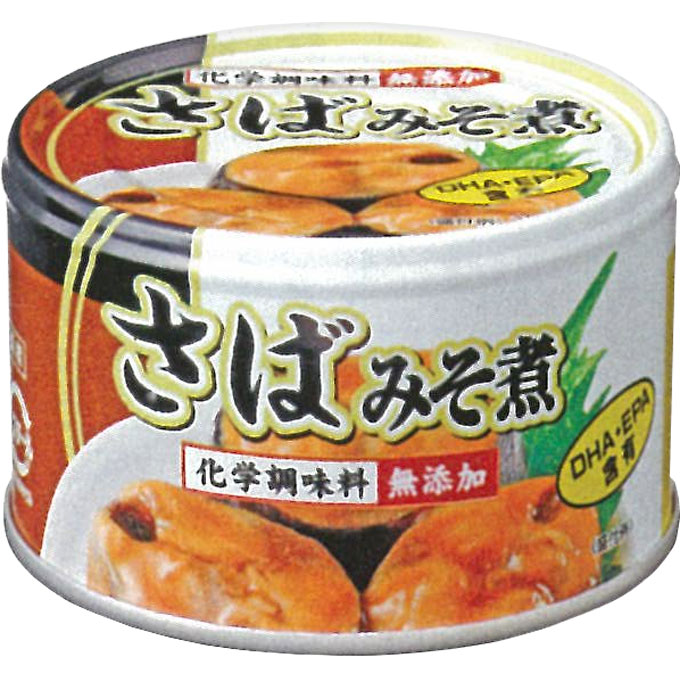 富永貿易 さばみそ煮缶詰 150g