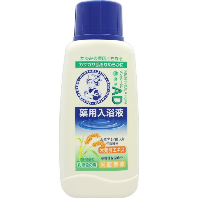 ロート製薬 メンソレータムAD薬用入浴液 やすらぐ森林の香り 720ml(医薬部外品)