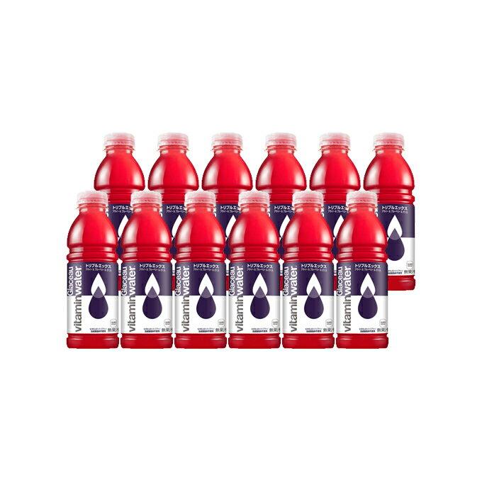 日本コカ・コーラ グラソー ビタミンウォーター トリプルエックス ケース 500ML×12