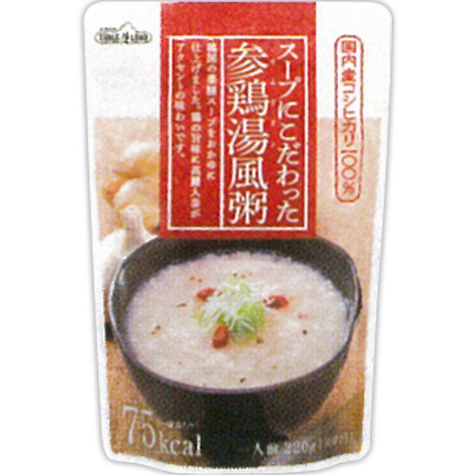 丸善食品工業 テーブルランド スープにこだわったサムゲタン風粥 220g