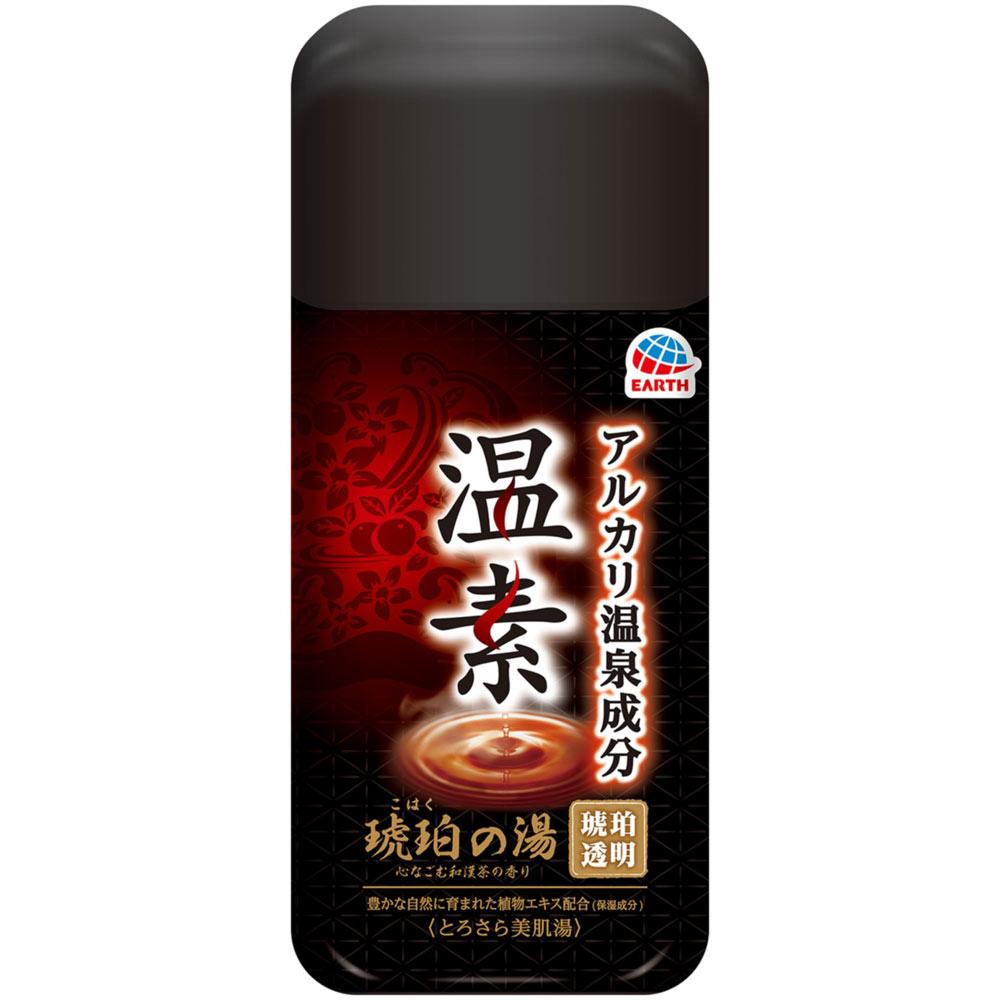 アース製薬 温素 琥珀の湯 600g(医薬部外品)