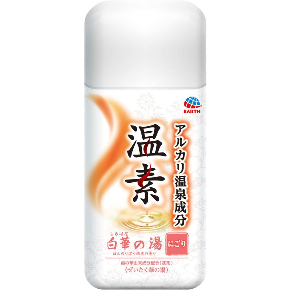 アース製薬 温素 白華の湯 600g(医薬部外品)