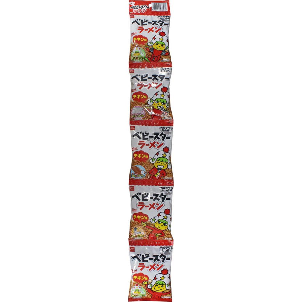 おやつカンパニー ベビースター ラーメン5連(チキン) 115G