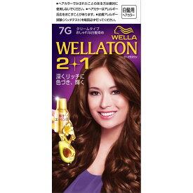 Wella AG ウエラトーン ツープラスワン クリーム 7G明るいウォームブラウン 60g+60ml (医薬部外品)