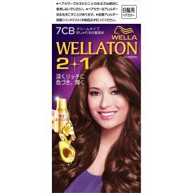 Wella AG ウエラトーン ツープラスワン クリーム 7CB明るいナチュラルブラウン 60g+60ml (医薬部外品)【point】