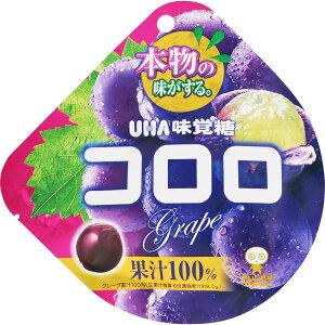 ユーハ味覚糖 コロロ グレープ 48g