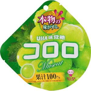 ユーハ味覚糖 コロロ マスカット 48g