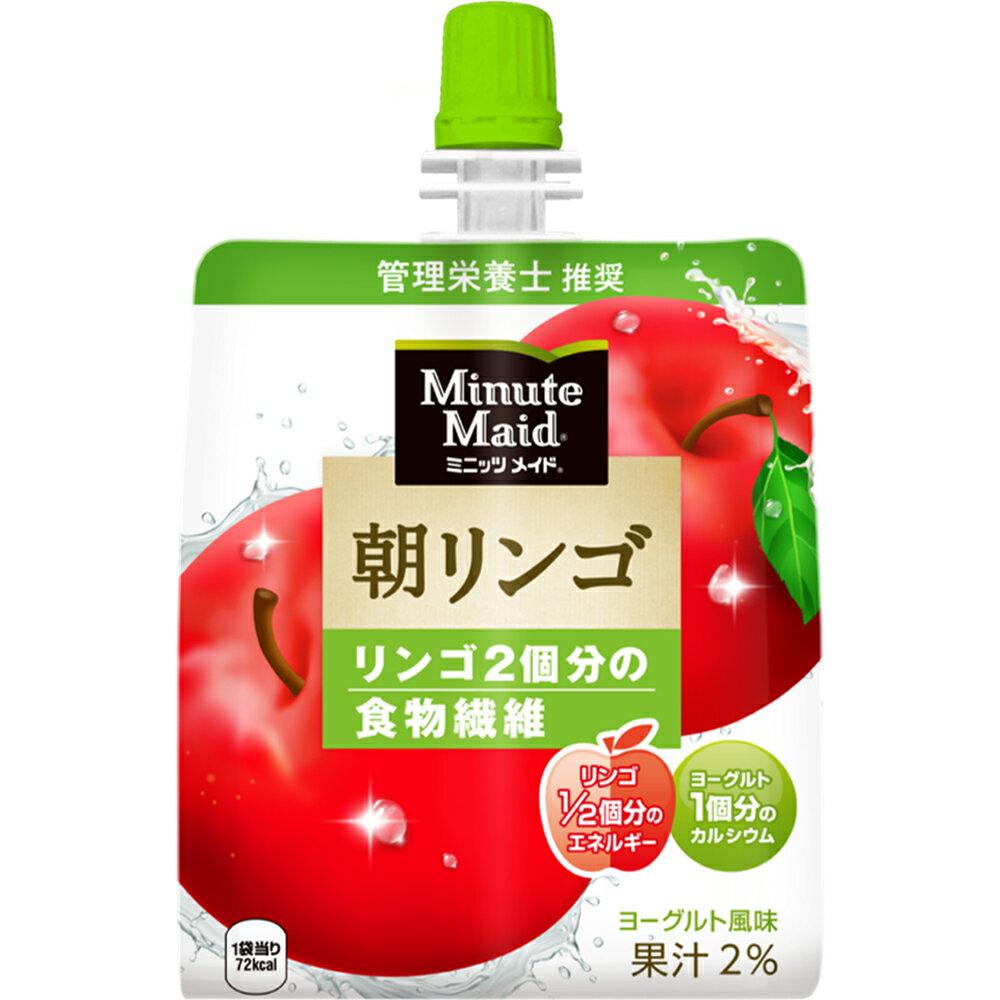日本コカ・コーラミニッツメイド 朝リンゴ180g