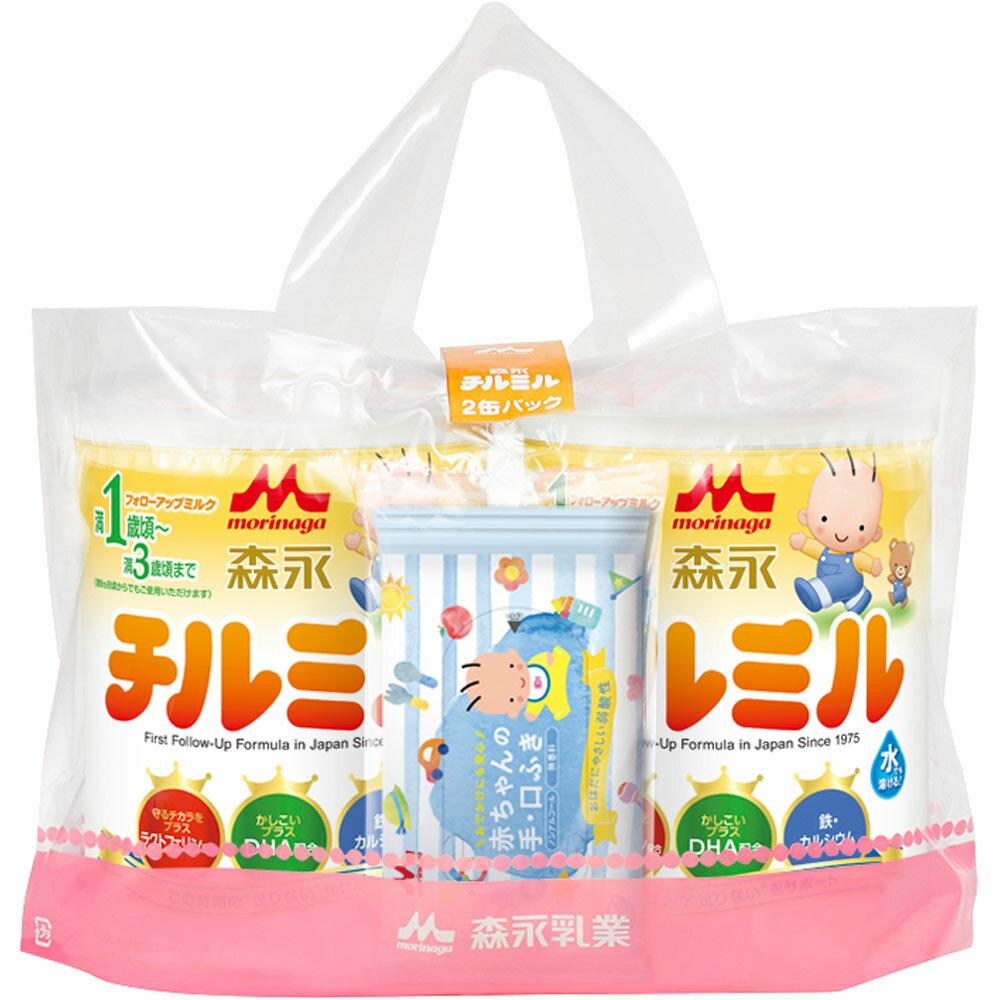 森永乳業 チルミル大缶 820g×2缶