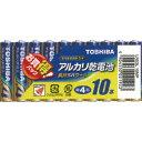 東芝電池 アルカリ電池単4・10P LR03L 10MP