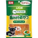 ライオン商事 PETKISS つぶつぶチップで歯のケア ちぎれるササミスティック野菜入り 60g