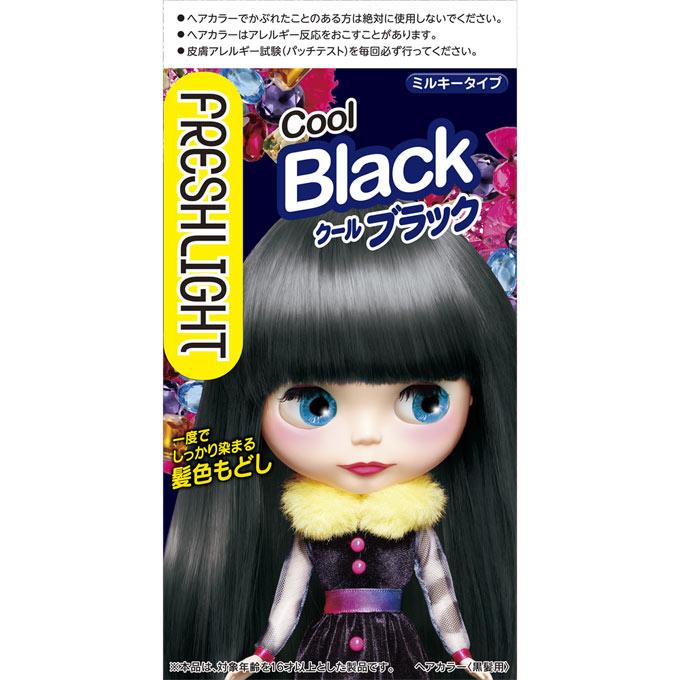 フレッシュライト ミルキー髪色もどし クールブラック60g+60ml(医薬部外品)