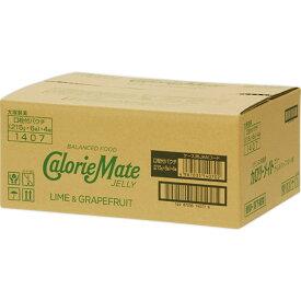 大塚製薬 カロリーメイト ゼリー(ライム&グレープフルーツ味) 215g×24