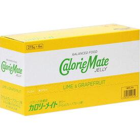 大塚製薬 カロリーメイト ゼリー(ライム&グレープフルーツ味) 215g×6