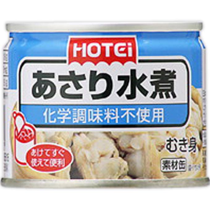 ホテイフーズコーポレーション あさり水煮 125g
