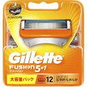 P&Gジャパン ジレット フュージョン5+1 替刃12個