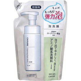 ちふれ化粧品 ちふれ 泡洗顔 詰替用 180ml